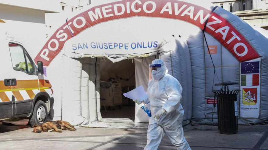 El coronavirus avanza en Europa e Italia supera las 600 muertes en un día