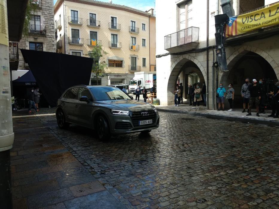 Rodatge d'un anunci a Girona