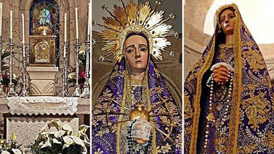 Roban el copón, coronas de Vírgenes y candelabros del monasterio de Bergondo
