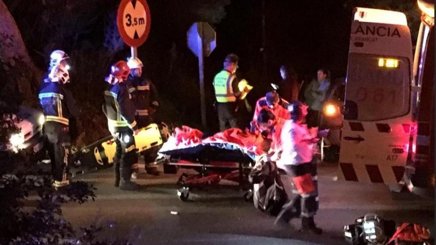 Motorradfahrer auf Mallorca nach Unfall schwer verletzt