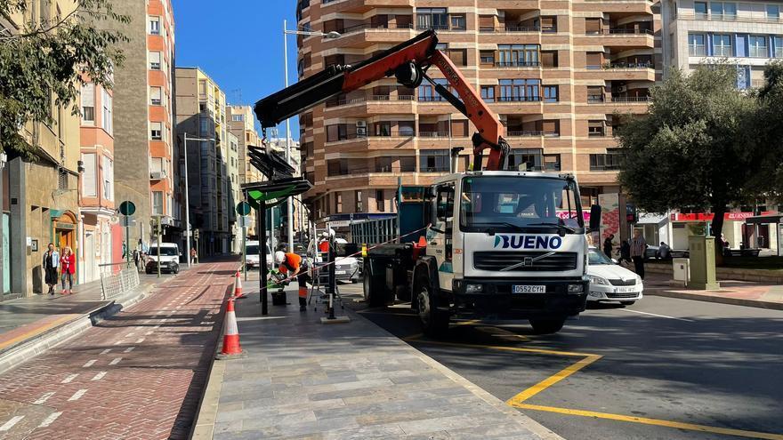 Mejoran la información en 41 paradas del bus urbano de Castelló