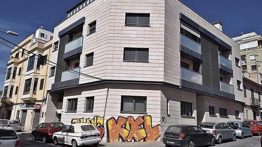 Vandalismus in Palmas In-Viertel