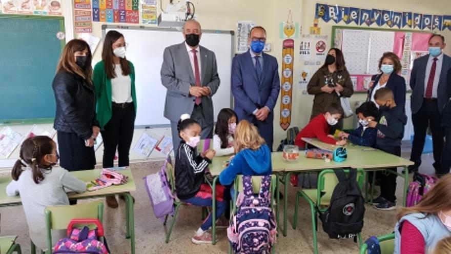 La DGA estudia ampliar el colegio de Calamocha ante la llegada de la planta cárnica de Tönnies