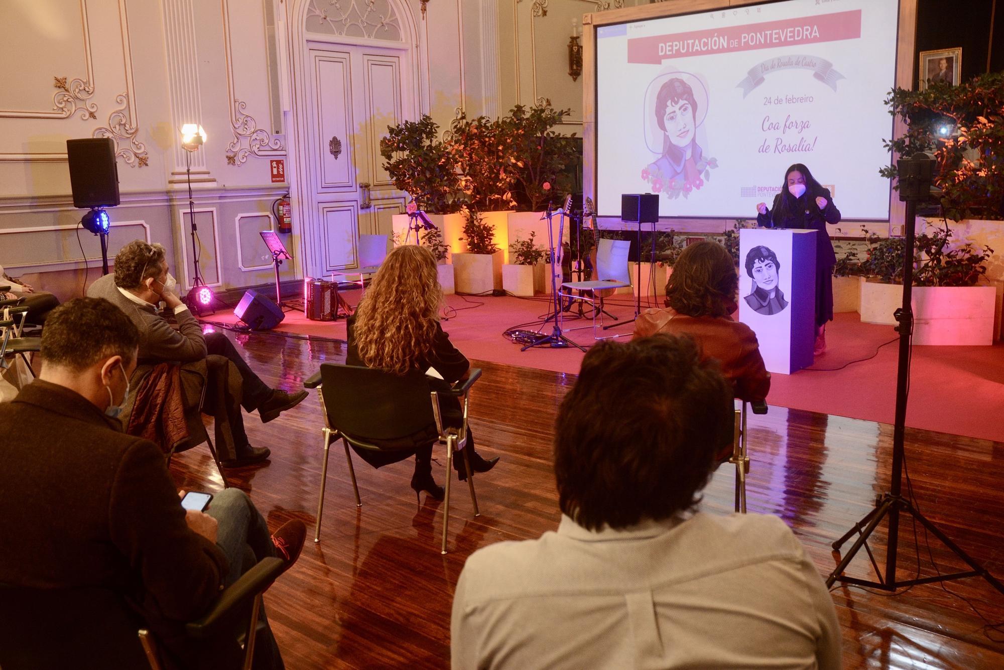Pontevedra celebra el Día de Rosalía