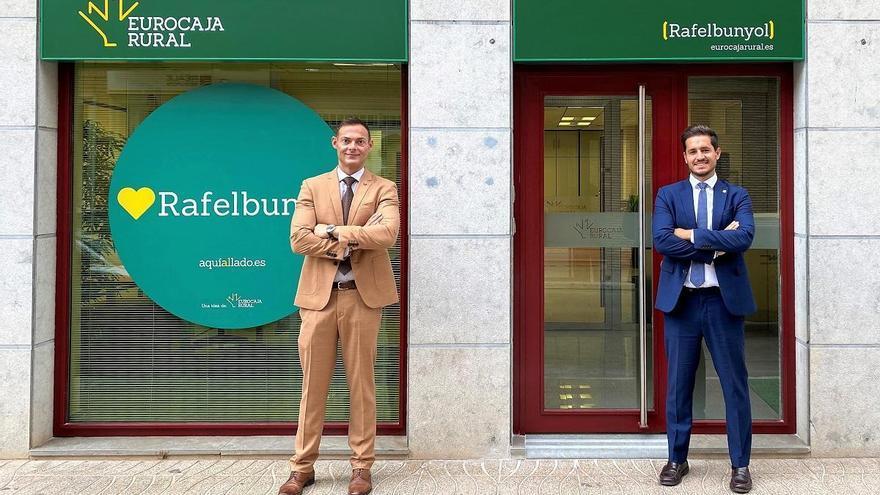 Eurocaja Rural amplía su red comercial y abre nueva oficina en Rafelbunyol