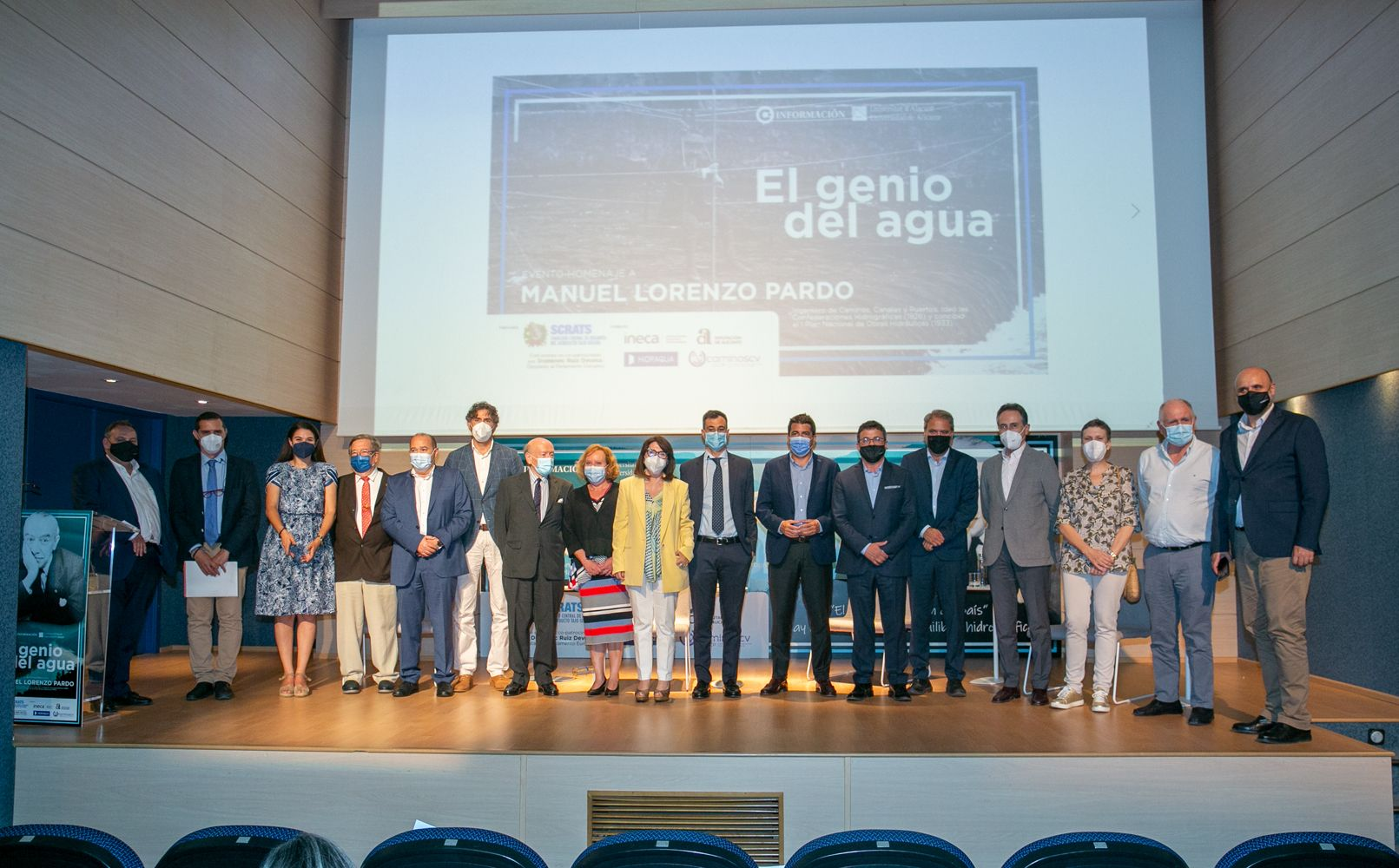 Homenaje a Manuel Lorenzo Pardo en el Club INFORMACIÓN