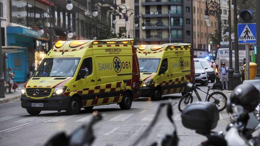 Una furgoneta atropella a tres niñas en la calle Jaume III de Palma