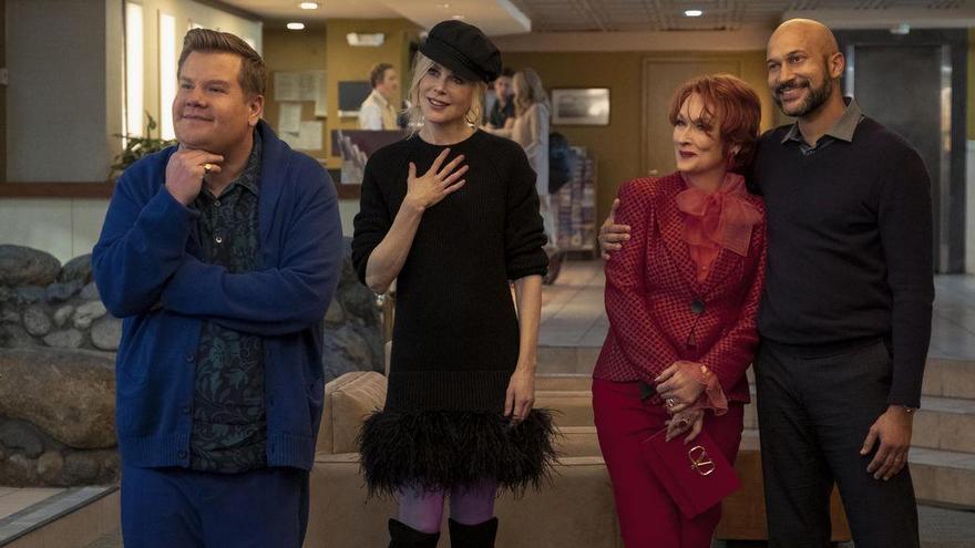 James Corden, Nicole Kidman, Meryl Streep y Keegan-Michael Key.