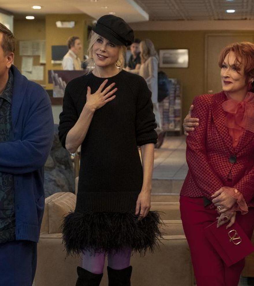 Una irreconocible Meryl Streep y Nicole Kidman protagonizan el primer tráiler de 'The Prom'