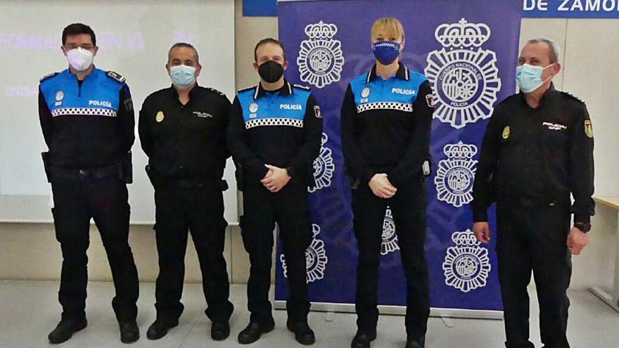 La Policía Nacional y la Municipal de Zamora se unen en contra de la violencia de género