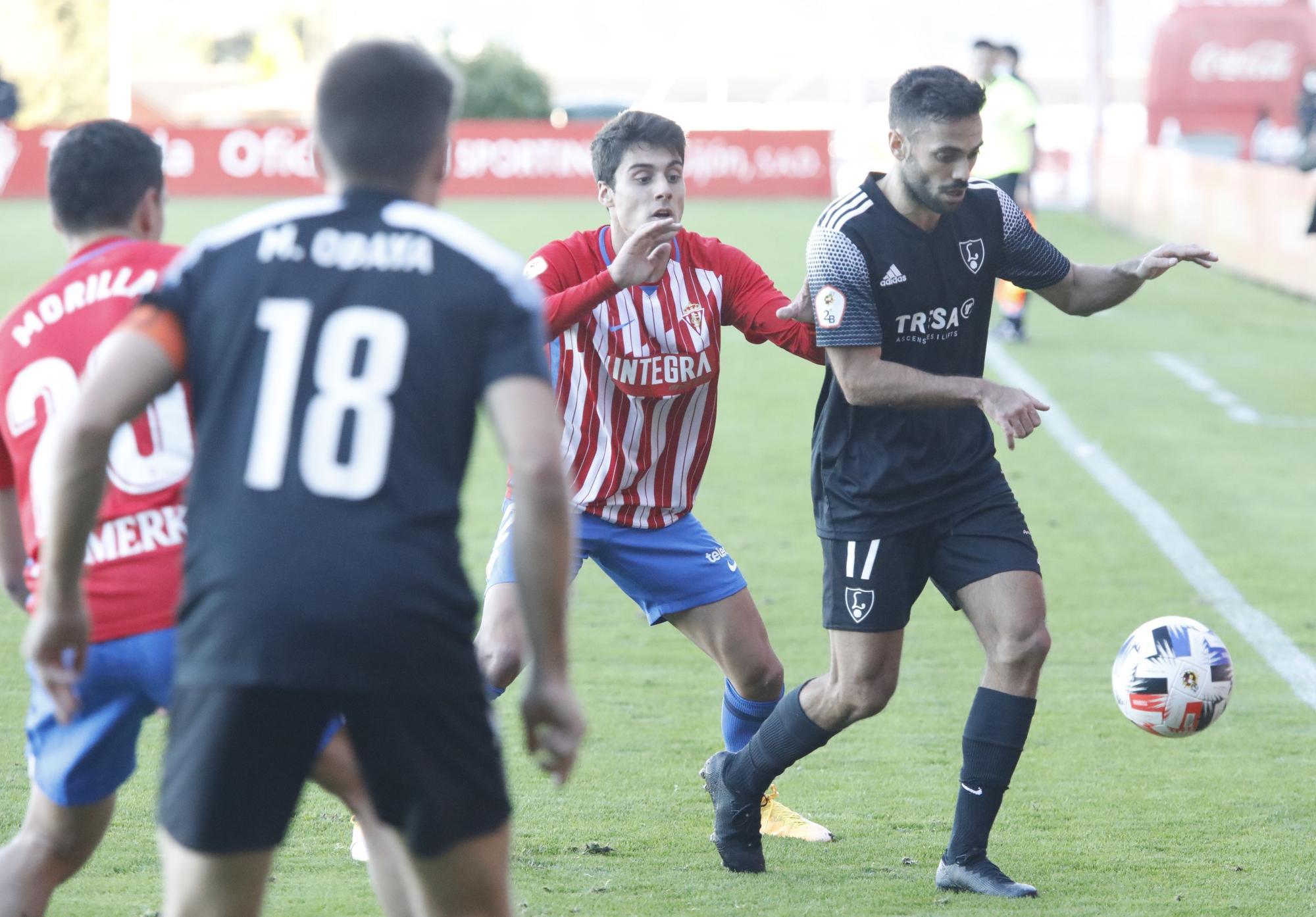 Les meilleures images des matchs Vetusta, Sporting B et Lealtad