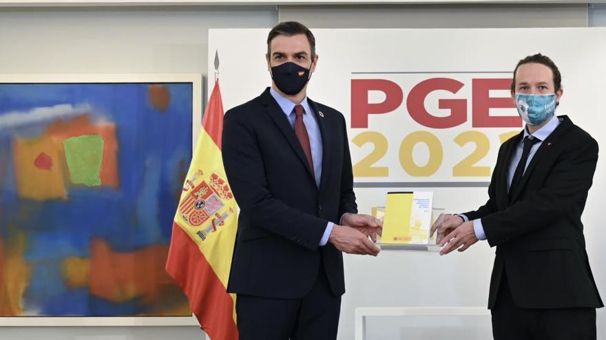 Sánchez e Iglesias se reunieron el lunes para preparar el nuevo año político