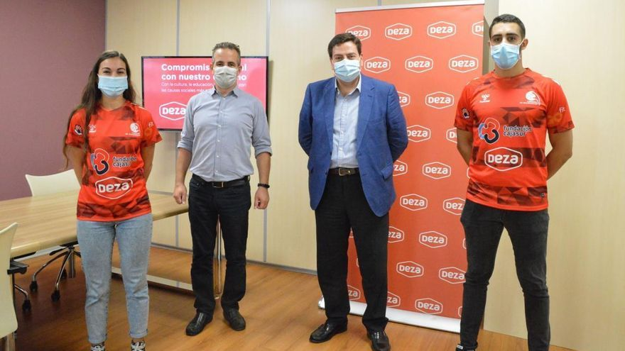 Supermercados Deza continuará apoyando al Cajasur Córdoba de balonmano