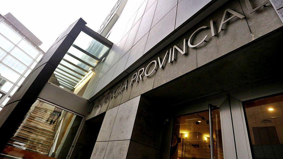 El edificio de la Audiencia Provincial, donde va a celebrarse la vista oral.