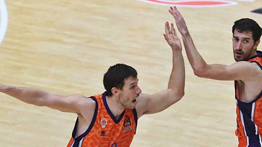 Un Valencia Basket con dos caras diferentes