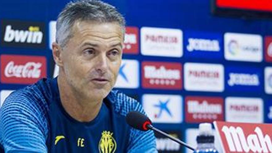 Fran Escribá insiste en las rotaciones del Villarreal en Getafe