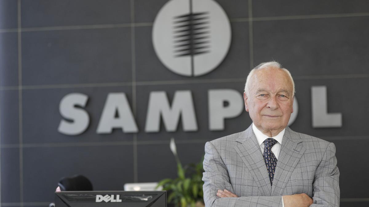 El presidente de Sampol Ingeniería y Obras, Gabriel Sampol.
