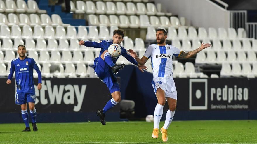 El Oviedo no reacciona y pierde en Leganés