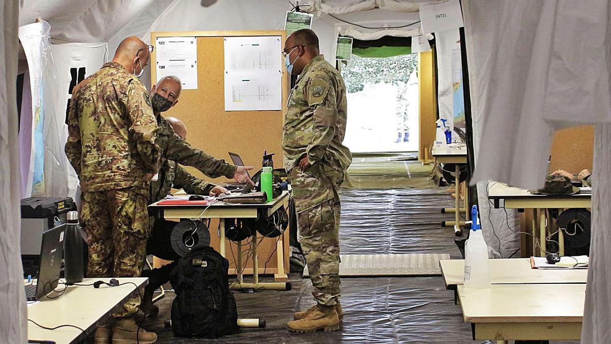 Bétera acoge a más de 300 militares de países aliados | LEVANTE-EMV