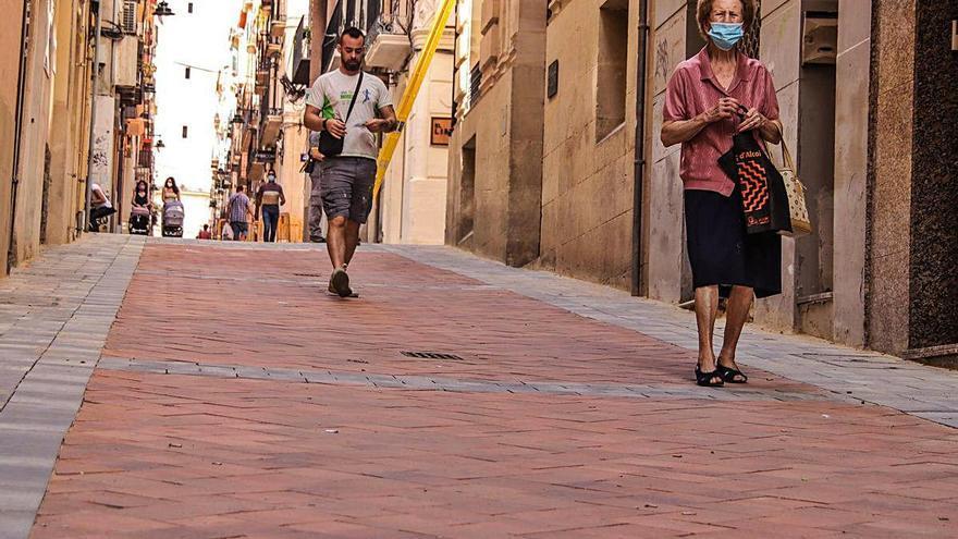 La reurbanización de Sant Francesc inicia el plan de peatonalización del centro