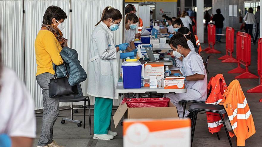 La campaña de la vacuna del COVID da síntomas de agotamiento en Zamora