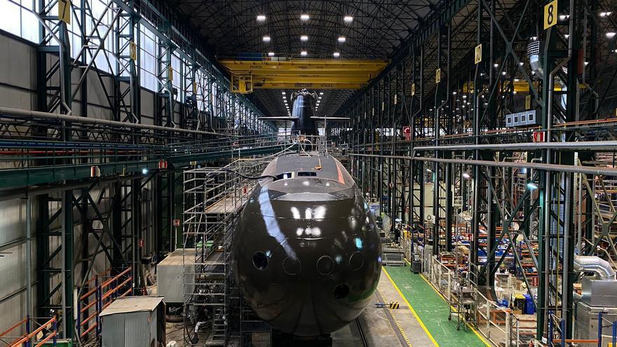 Navantia ultima los detalles de la puesta a flote del submarino S-81