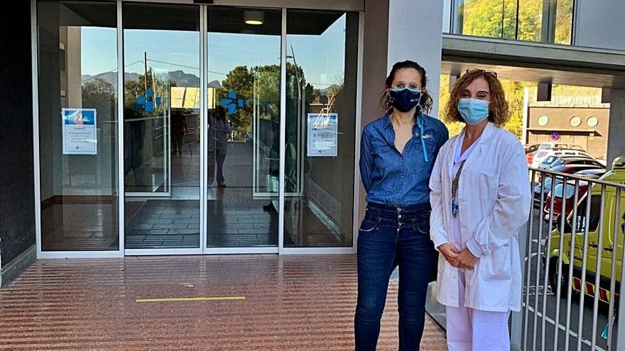 Berga Resort obsequia l'hospital per la feina feta