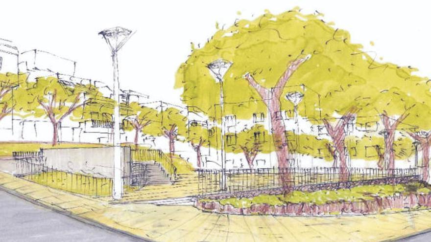 El consistorio licita la nueva plaza de La Piterita por 250.000 euros