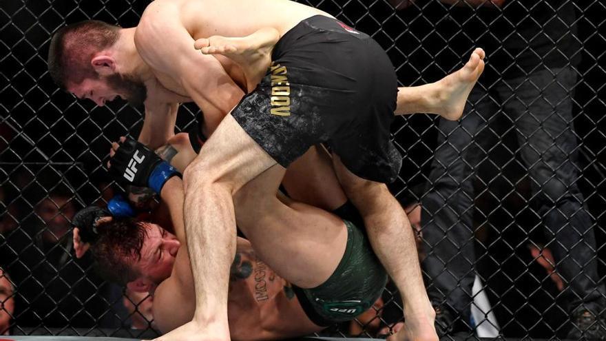Batalla campal tras la derrota de Conor McGregor