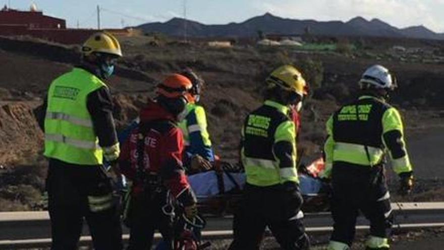Una mujer fallece y siete personas resultan heridas tras una colisión en Fuerteventura