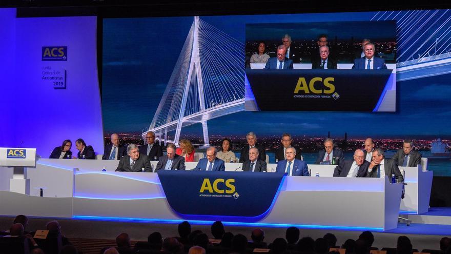 ACS gana 195 millones hasta marzo, un 3,8% más, a pesar del impacto de la crisis en el tráfico