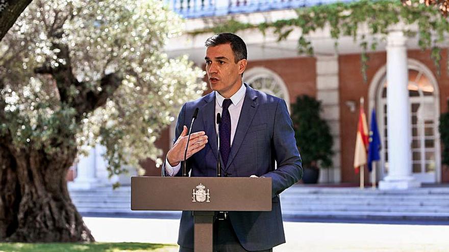 Sánchez es ratifica en el «no» al referèndum i presentarà els Comptes «en temps i forma»