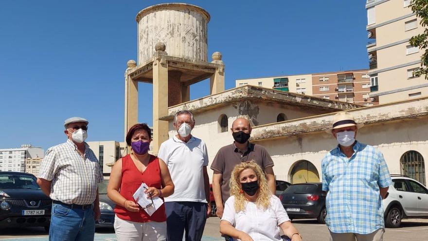 Adelante Málaga pide que se proteja el antiguo depósito de agua de Muelle Heredia