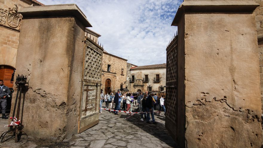 Fotogalería: El rodaje de la precuela de 'Juego de tronos' en Cáceres, en imágenes
