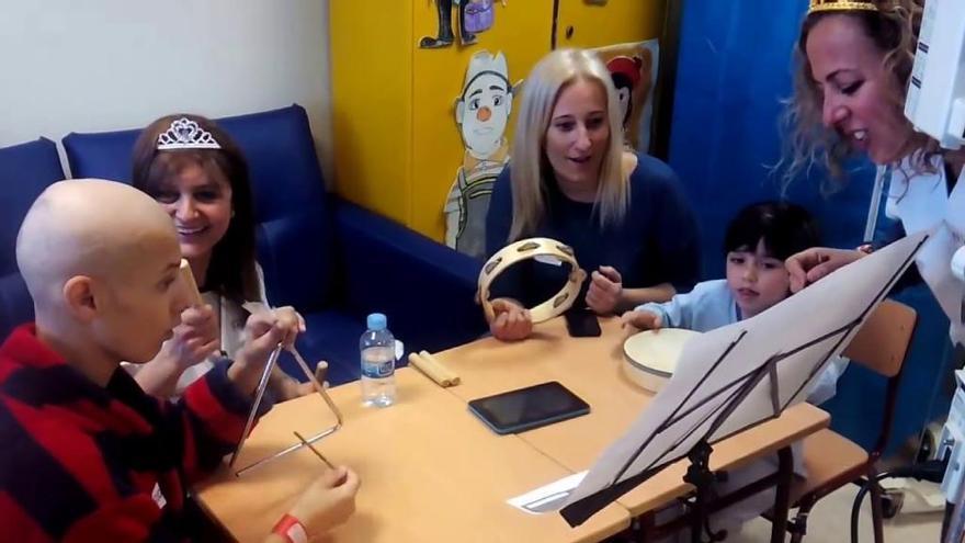 Música para amenizar las esperas en oncología de la Arrixaca