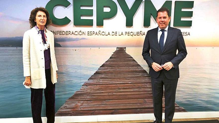 Carmen Planas es nombrada vicepresidenta de CEPYME