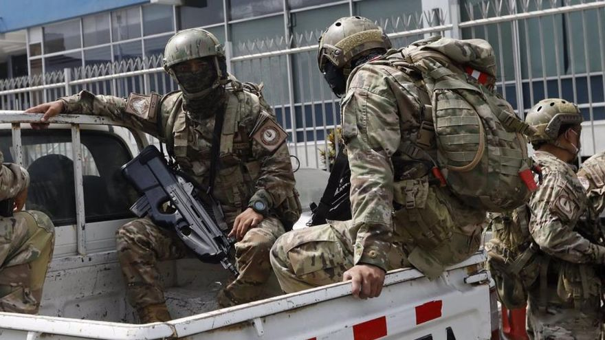 """No va a quedar aquí"", dice la ministra de Perú tras el ataque a las fuerzas armadas"