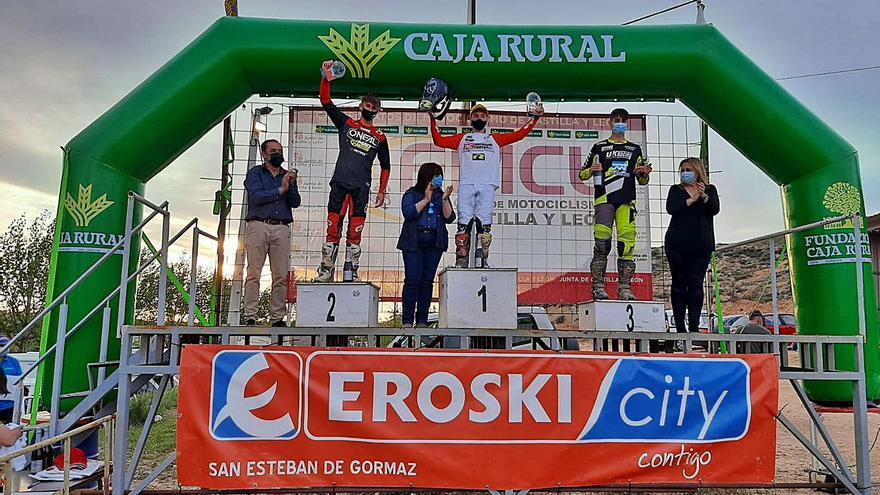 Pablo Gutiérrez gana en el motocross de Castilla y León