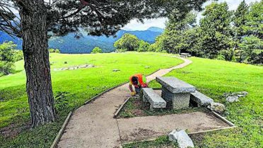 El Cadí condiciona el camí adaptat per a persones amb discapacitat de Cap del Ras