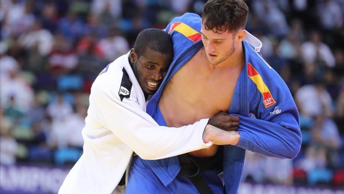 El judoca español Sherazadishvili, campeón mundial de -90 kilos