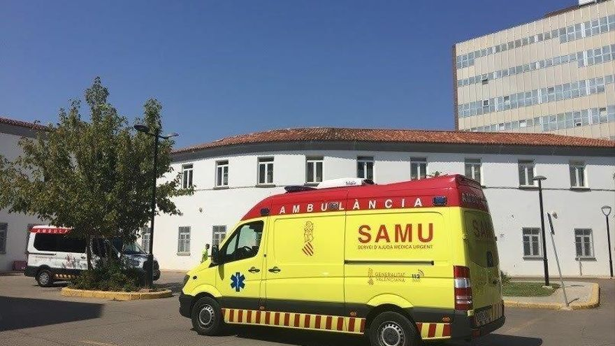 Herido un motorista tras sufrir un accidente en Cullera