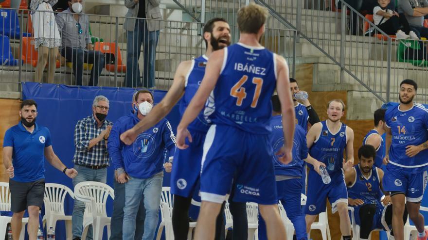 El CB Marbella se lleva el primer partido ante Albacete Basket (87-65)