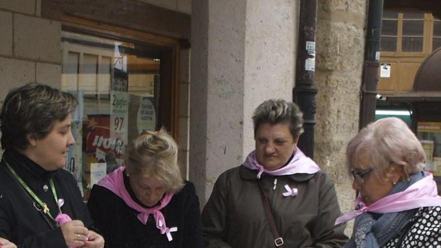 La AECC de Benavente celebra la cuestación anual con la instalación de diez mesas petitorias el miércoles