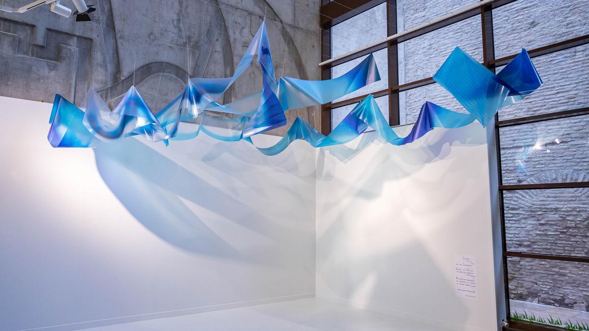 Una imagen de la instalación de Prado R. Vielsa en el Espacio Tránsito.