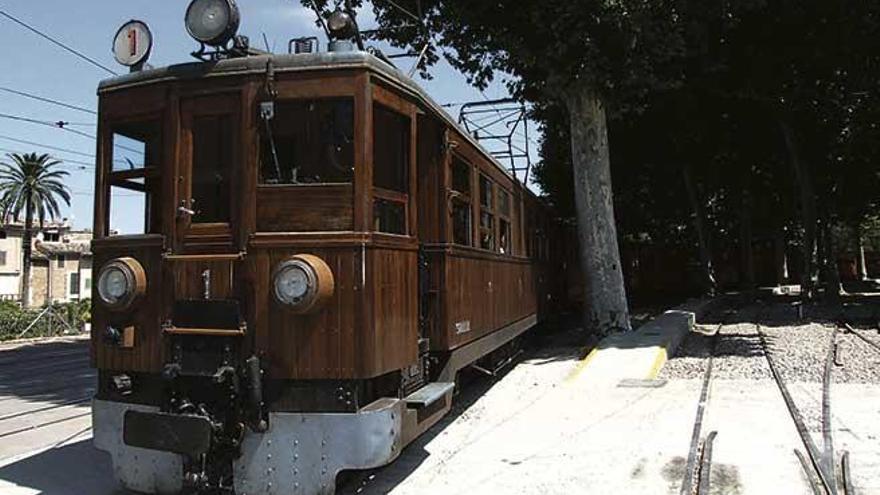 Valldemossa y Deià se apearon del tren