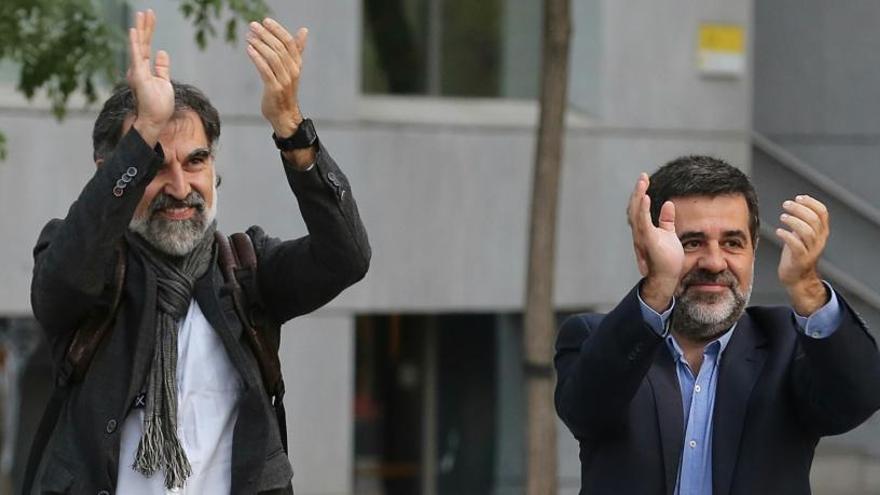 Lledoners acorda un permís de 48 hores per a Sànchez i Cuixart que haurà de ratificar el Govern