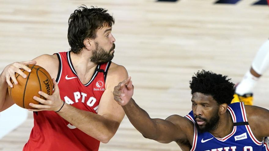 Los Raptors ganan a los Sixers y se medirán a los Nets en la primera ronda de los 'playoffs'