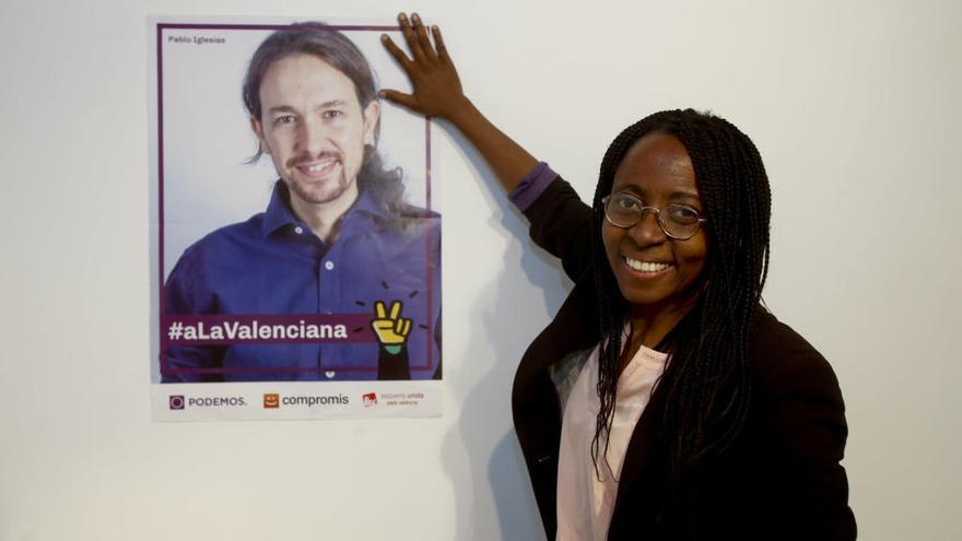 La diputada alicantina de Podemos registra solo dos preguntas en año y medio
