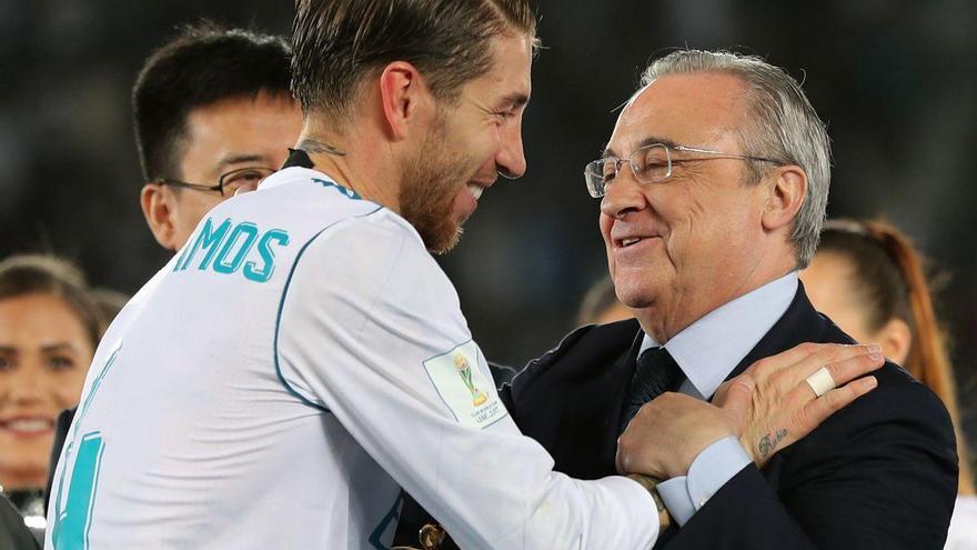 La leyenda de la renovación de Sergio Ramos