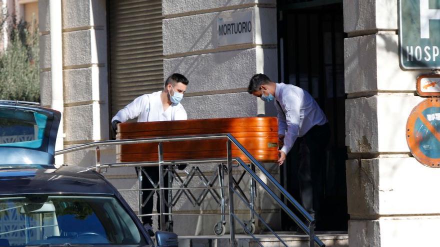 El fin de semana arroja 350 defunciones por coronavirus en la Comunitat Valenciana